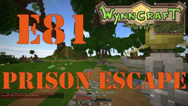 "Let's Play Wynncraft Episode 81 ""Prison Escape"""