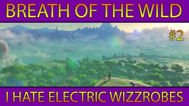 Let's Play BotW #2: I Hate Electric Wizzrobes! (Nintendo Switch)