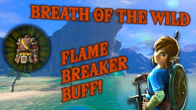 Flamebreaker Buffing - Breath of the Wild Gameplay #5 (Nintendo Switch)