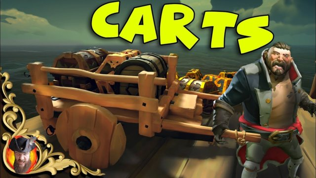Sea Of Thieves - CARTS - Selling Treasure & Cargo Faster