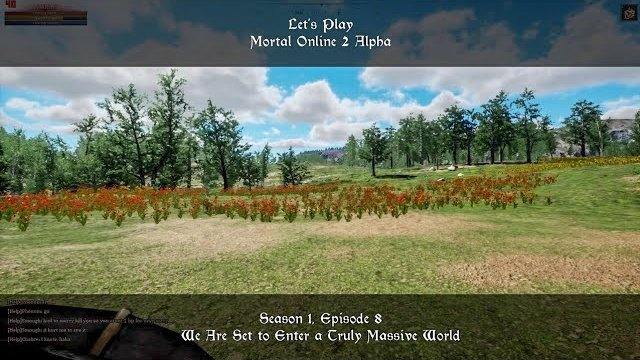 S1, Ep8. We Are Set to Enter a Truly Massive World | Let's Play: Mortal Online 2 Alpha
