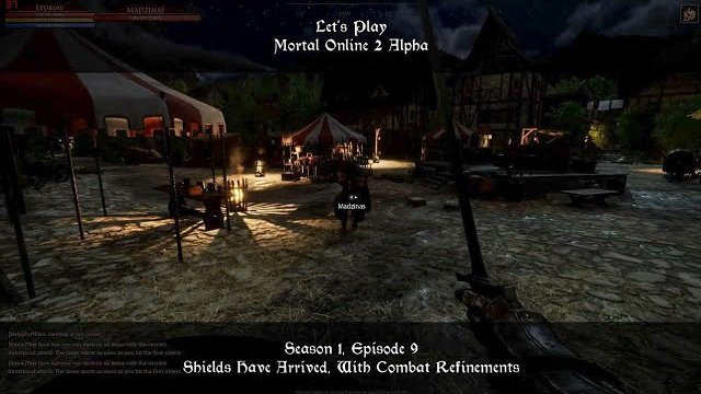 S1, Ep9. Shields Have Arrived, With Combat Refinements | Let's Play: Mortal Online 2 Alpha