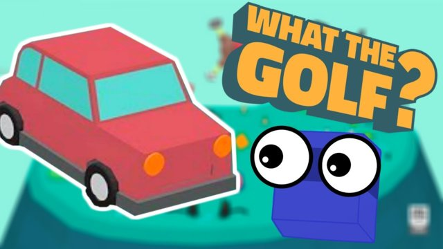 There are CARS in golf??? | What the golf? (part 5)